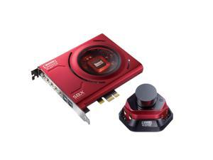 Creative 5.1 Sound Channels Blaster Zx 116 dB PCIe Gaming Sound Card with Desktop Audio Control Model 70SB150600000