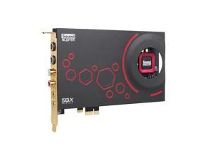 Creative Sound Blaster ZxR PCIe 124dB SNR Sound Card with Desktop Audio Control Model 70SB151000000