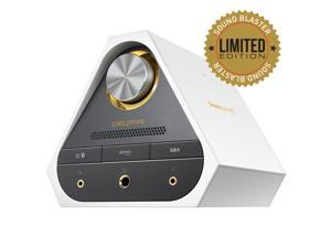 Creative Sound Blaster X7 Limited Edition Speaker System Pearl White Wireless Speaker Model 70SB158000003