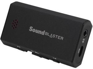 Creative Sound Blaster E1 USB Sound Card and DAC with Powered Headphone Amp Model 70SB160000000