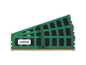 Crucial 6GB (3 x 2GB) DDR3 PC3-12800 1600MHz 240-Pin Desktop Memory Model CT3KIT25664BA160B