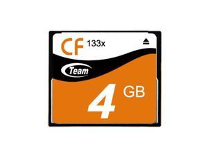 Team 4GB 133X CF CompactFlash memory card Model TCF4G13301