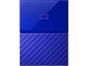 Western Digital 1TB My Passport Portable Hard Drive USB 3.0 Color Blue Model WDBYNN0010BBL-WESN