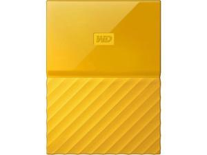 Western Digital 3TB My Passport Portable Hard Drive USB 3.0 Color Yellow Model WDBYFT0030BYL-WESN