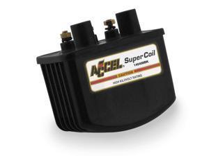 Accel 140408BK SUPER COIL-SNG FIRE,BLK,ACCEL