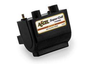 Accel 140407BK SUPER COIL-ELECTRNC,BLK,ACCEL