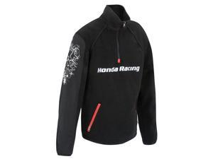 Honda Racing Motorcycle Honda Racing Fleeve Pullover Ladies Black Size Medium