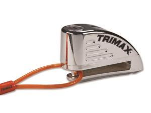 TRIMAX Lock Disc Chrome Alrm 8MM