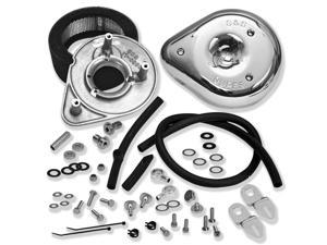 S&S Cycle Teardrop Air Cleaner Kit - Super E & G 17-0404 For Harley Davidson