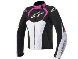 Alpinestars Stella T-Jaws WP Womens Motorcycle Jacket Black/Pink Small