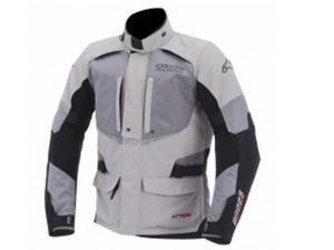 Alpinestars Andes Drystar Motorcycle Jacket Gray/Gray/Black Medium
