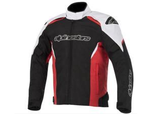 Alpinestars Gunner Waterproof Motorcycle Jacket Black/White/Red Medium