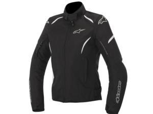 Alpinestars Stella Gunner Waterproof Womens Motorcycle Jacket Black/White Medium
