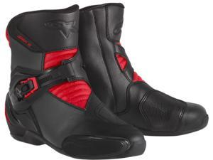 Alpinestars SMX 3 Boots Black/Red 6.5