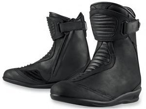 Icon One Thousand Eastside Waterproof Womens Boots Stealth 8