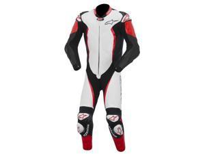 Alpinestars GP Tech One-Piece Leather Suit White/Black/Red 54