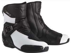 Alpinestars SMX 3 Vented Boots Black/White 8