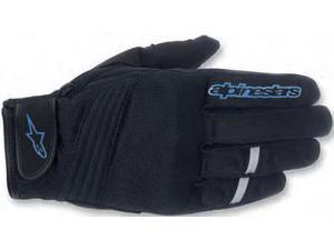 Alpinestars Asama Air Gloves Black/Blue XXX-Large