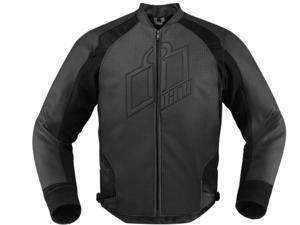 Icon Hypersport Motorcycle Jacket Stealth X-Large