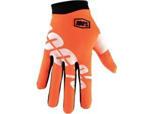 100% I-Track Youth Gloves Cal Trans Small