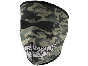 Zan Headgear Full Face Mask Camo with Teeth OSFM