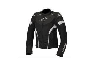 Alpinestars Stella T-GP Plus Air Motorcycle Jacket Black/White X-Small