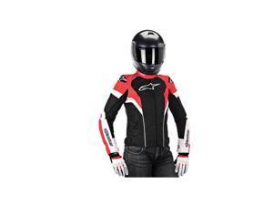 Alpinestars Stella T-GP Plus Air Motorcycle Jacket Black/White/Red Small