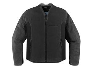 Icon One Thousand Oildale Motorcycle Jacket Black Small