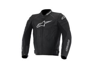 Alpinestars GP Plus R Perforated Leather Motorcycle Jacket Black/White 38