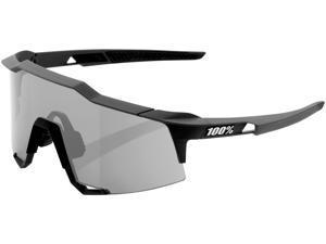 100% Speedcraft Sunglasses Gunmetal / Smoke Lens