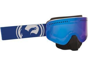 Dragon Alliance NFX Ionized Snow Goggles Blue/White Split / Blue Lens