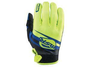 MSR M15 Axxis Gloves Yellow/Black/Blue XX-Large