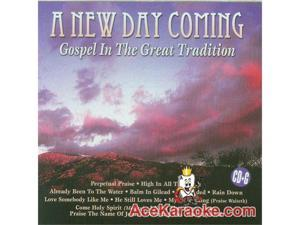 Pocket Songs Just Tracks Karaoke CDG JTG339 - A New Day Coming - Gospel In The Great Tradition