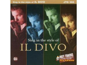 Pocket Songs Just Tracks Karaoke CDG JTG395 - Il Divo