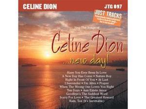 Pocket Songs Just Tracks Karaoke CDG JTG097 - CELINE DION..NEW DAY!