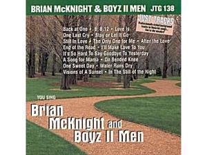 Pocket Songs Just Tracks Karaoke CDG JTG138 - You Sing Brian McKnight and Boyz II Men