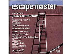 Pocket Songs Karaoke CDG #1263 - Escape Master - Songs From James Bond Films