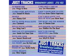 Pocket Songs Just Tracks Karaoke CDG JTG162 - BROADWAY LADIES