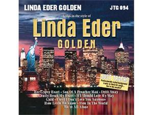 "Pocket Songs Just Tracks Karaoke CDG JTG094 - LINDA EDER ""GOLDEN """