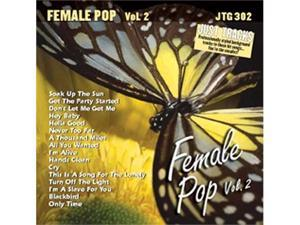 Pocket Songs Just Tracks Karaoke CDG JTG302 - Female Pop Volume 2