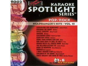Sound Choice Spotlight CDG SCG9002 - Headbanger's Hits Vol. 15