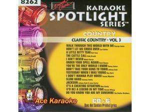 Sound Choice Spotlight CDG SCG8262 - Classic Country Vol.3