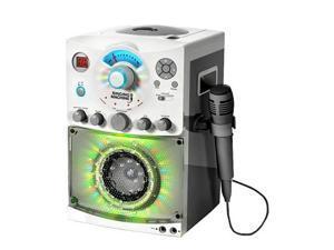 Singing Machine SML-385W CDG Karaoke Machine With Sound and Disco Light System