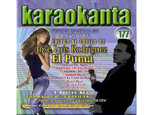 Karaokanta KAR-4177 - José Luis Rodríguez El Puma - I Spanish CDG