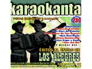Karaokanta KAR-4230 - Al Estilo de Los Alegres - I Spanish CDG
