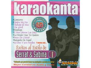 Karaokanta KAR-4571 - Serrat y Sabina 1 - Spanish CDG