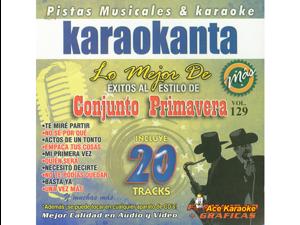 Karaokanta KAR-8129 - Conjunto Primavera 1 / Lo Mejor De... Spanish CDG
