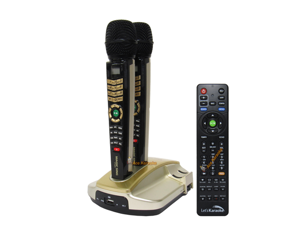 EnterTech MagicSing ET-23KH HD Wireless Microphone Karaoke System - Tagalog Edition