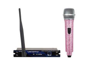 VocoPro UHF-18-DIAMOND Pink Single Channel UHF Wireless Mic System