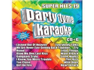 Party Tyme Karaoke CDG SYB1114 - Super Hits 19